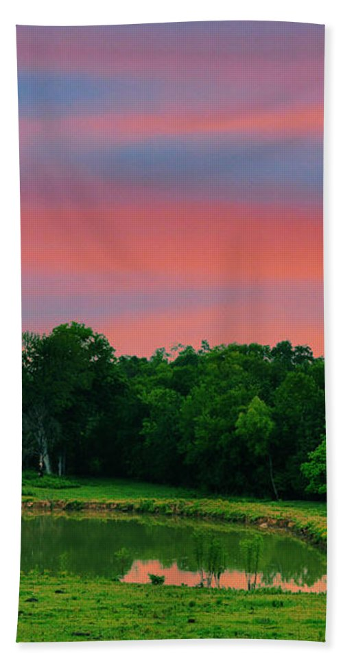 Landscapes Bath Sheet featuring the photograph Restful Afternoon by Jan Amiss Photography