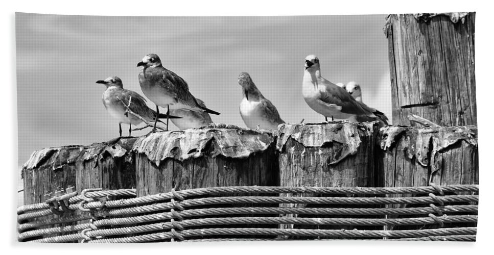 Ann Keisling Hand Towel featuring the photograph Resting Spot by Ann Keisling