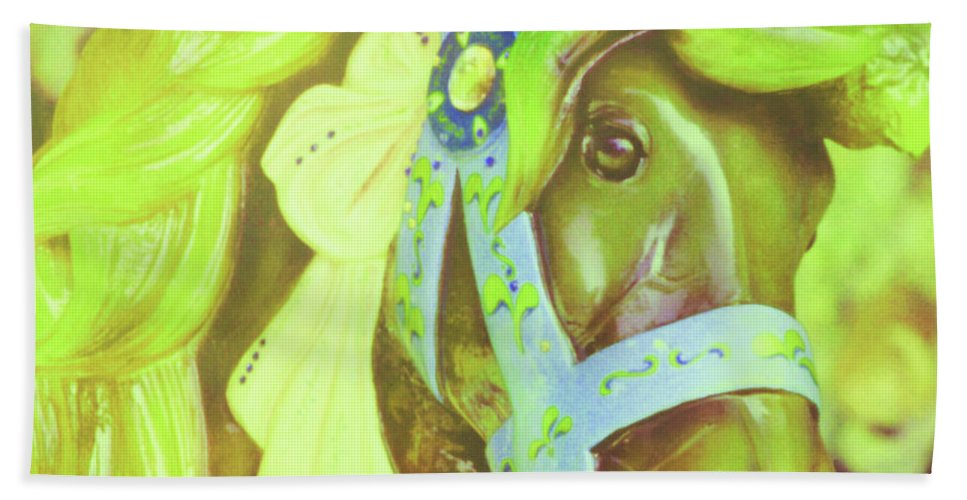 Horse Bath Sheet featuring the photograph Ride Of Old Green by JAMART Photography