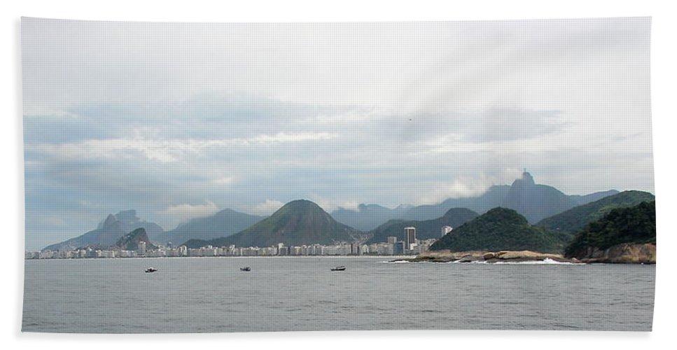 Rio De Janeiro Bath Sheet featuring the photograph Rio De Janeiro II by Brett Winn