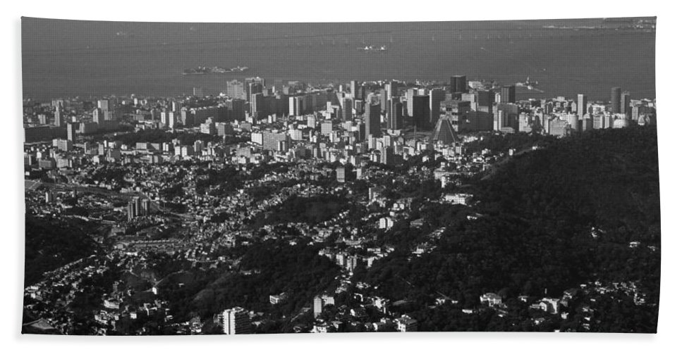South America Hand Towel featuring the photograph Rio De Janeiro by Juergen Weiss