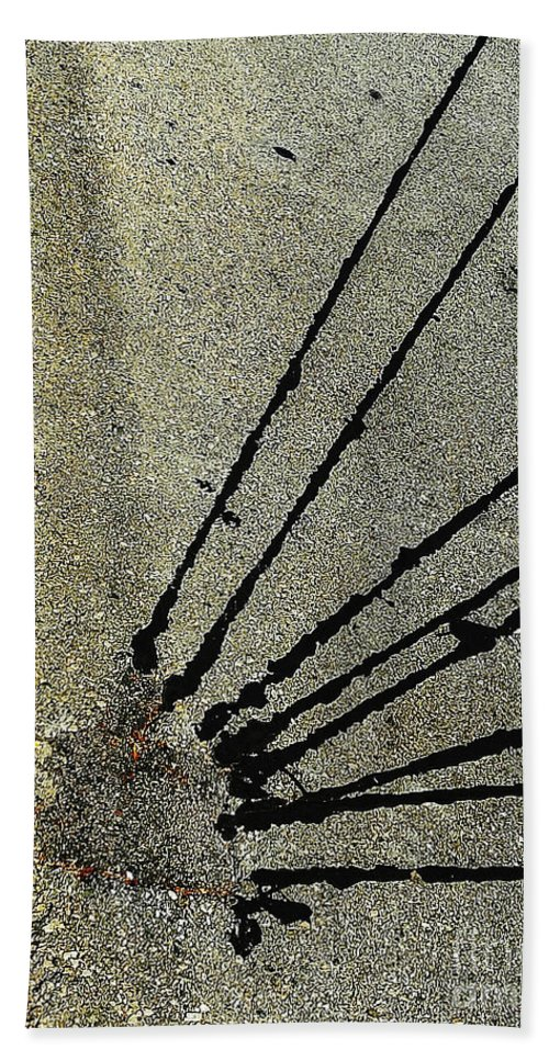 Abstract Bath Sheet featuring the photograph Roadside Attraction by Fei A