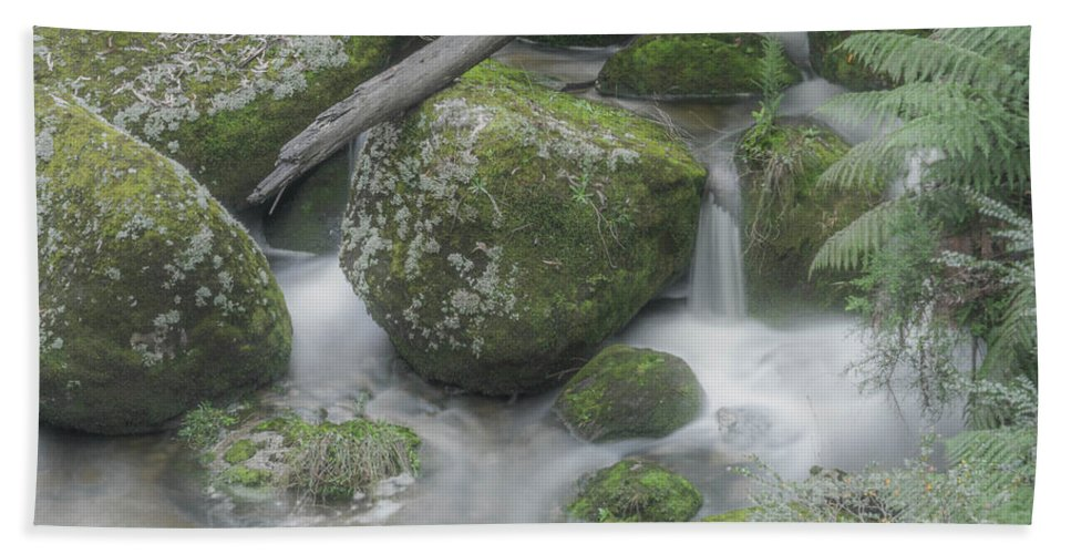 Rocks Bath Sheet featuring the photograph Rock Pool by Kym Papworth