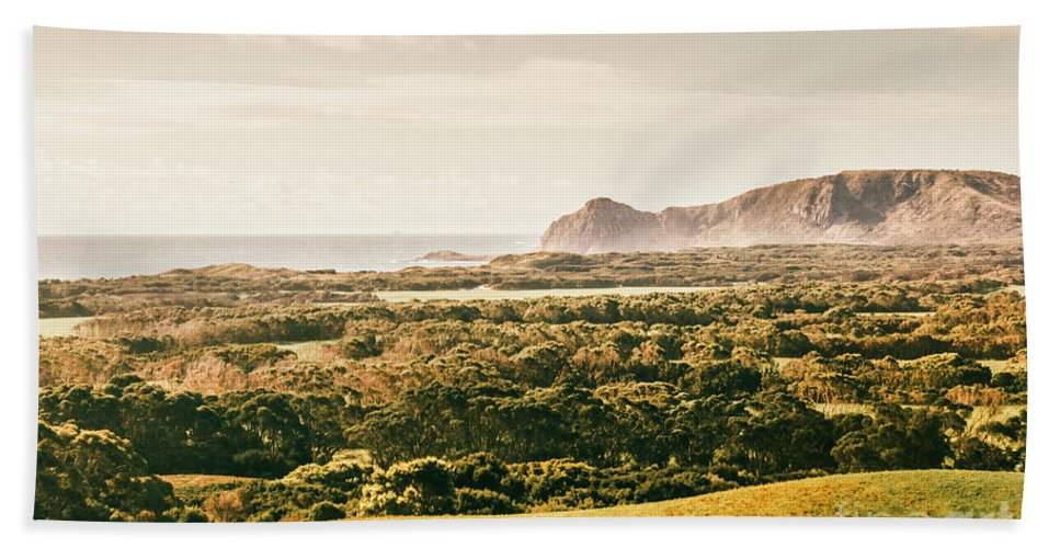 Tasmania Hand Towel featuring the photograph Rocky Capes And Rugged Coasts by Jorgo Photography - Wall Art Gallery