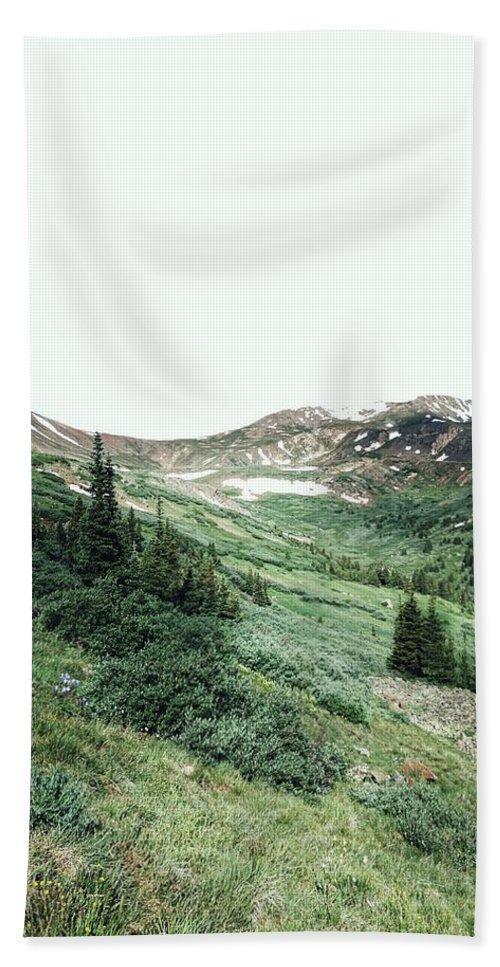 Bath Sheet featuring the photograph Rocky Mountain Vibes by Kristina Jenson