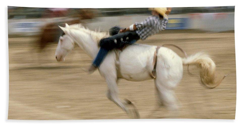Rodeo Bath Sheet featuring the photograph Rodeo by Jerry McElroy