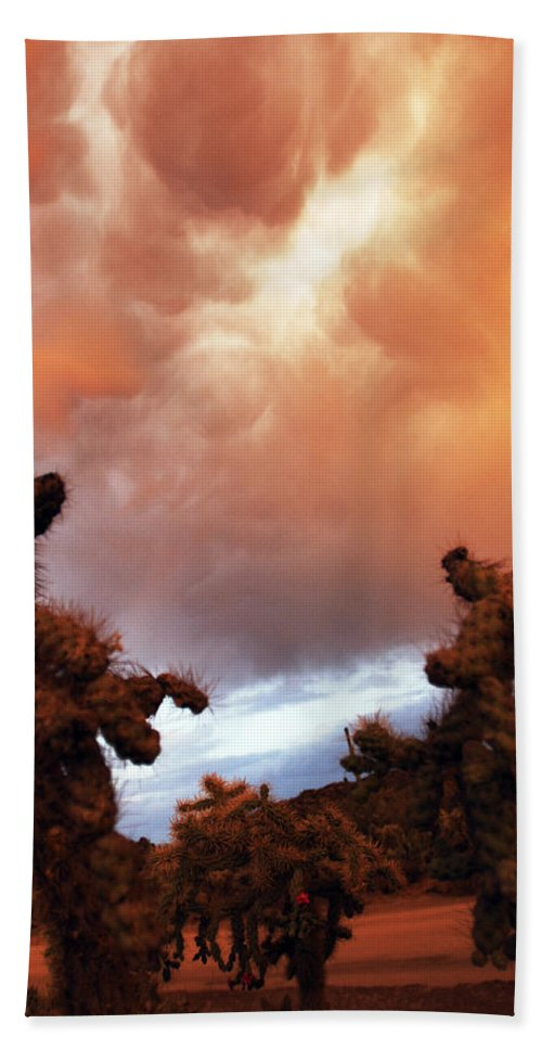 Storm Hand Towel featuring the photograph Roiling Sky by Jill Reger