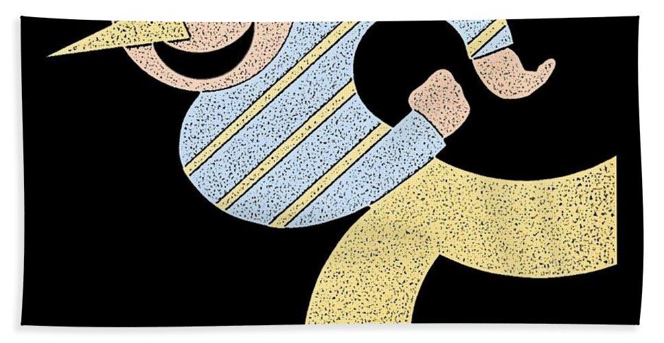 Roller Bath Towel featuring the photograph Roller Skater T-shirt by Edward Fielding