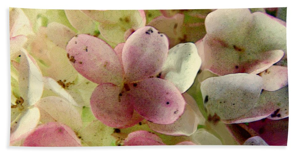 Floral Bath Sheet featuring the digital art Romance In Pink And Green by RC DeWinter
