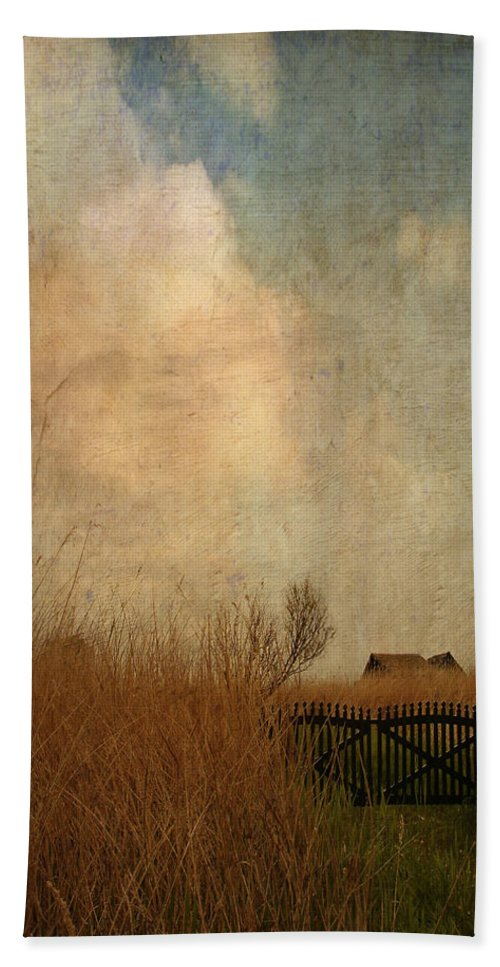 Baltic Sea Bath Sheet featuring the photograph Romantic House by Heike Hultsch