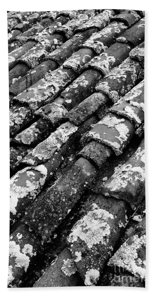 Ceramics Bath Towel featuring the photograph Roof Tiles by Gaspar Avila
