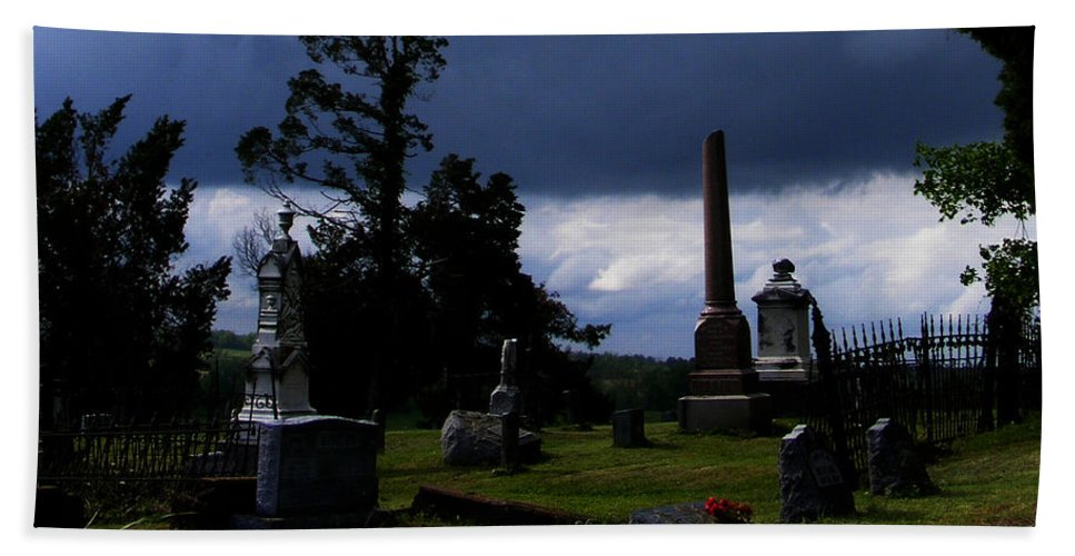 Landscape Hand Towel featuring the photograph Roses After The Storm by Rachel Christine Nowicki