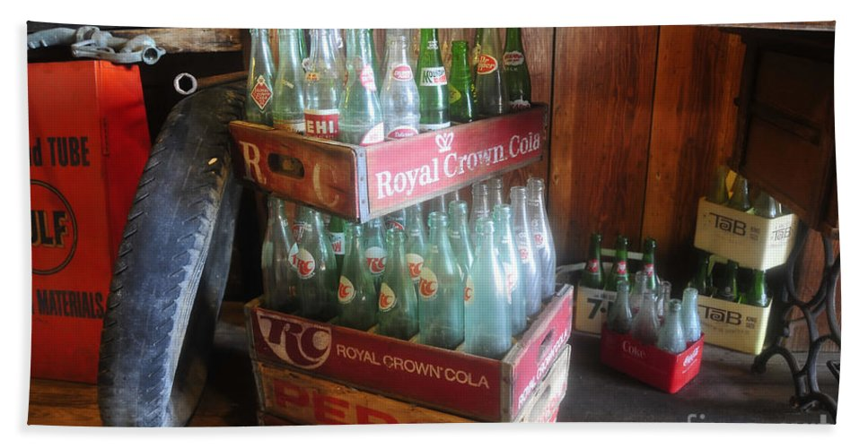 Royal Crown Cola Hand Towel featuring the photograph Royal Crown Cola by David Lee Thompson