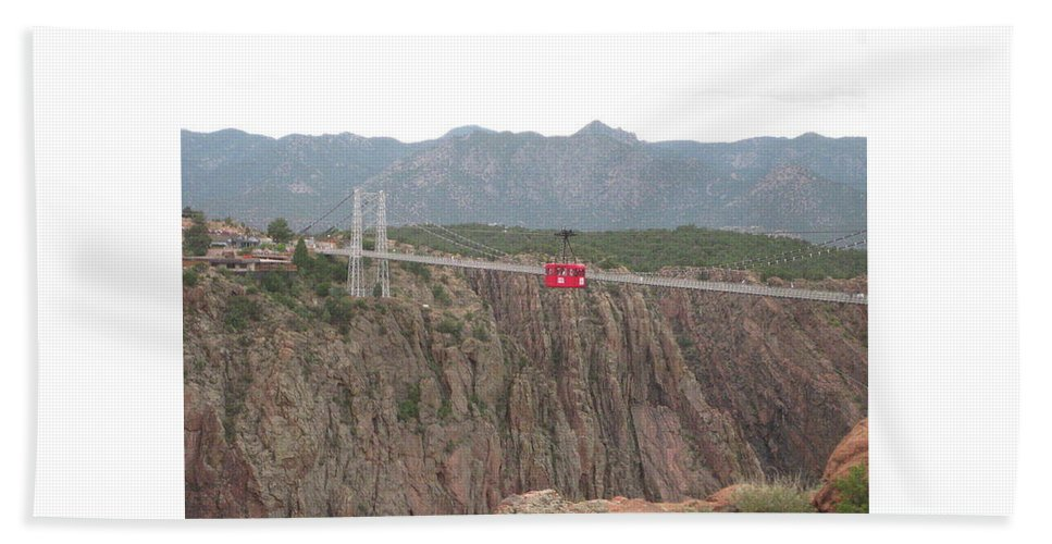 Hand Towel featuring the photograph Royal Gorge by Rocky Washington