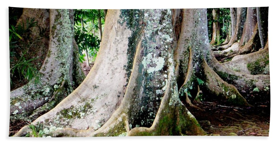 Rudraksha Hand Towel featuring the photograph Rudraksha 1 by Mary Deal