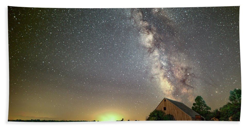Field Bath Sheet featuring the photograph Rural Dreams by AllScapes Photography