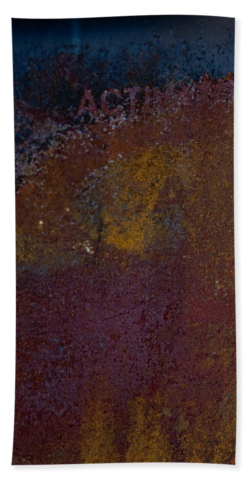 Rust Bath Sheet featuring the photograph Rusted by Hannah Breidenbach
