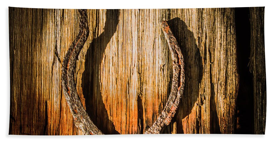 Symbol Bath Towel featuring the photograph Rustic Country Charm by Jorgo Photography - Wall Art Gallery