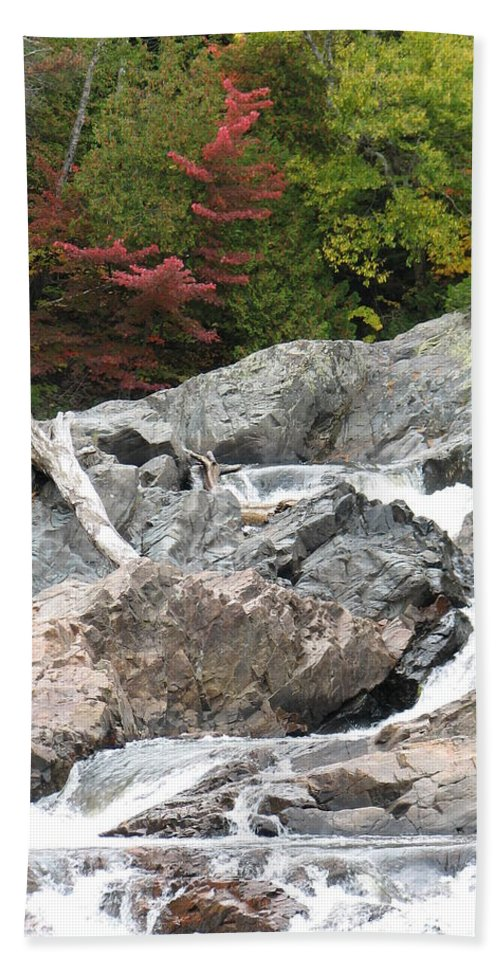 River Hand Towel featuring the photograph S Curve by Kelly Mezzapelle