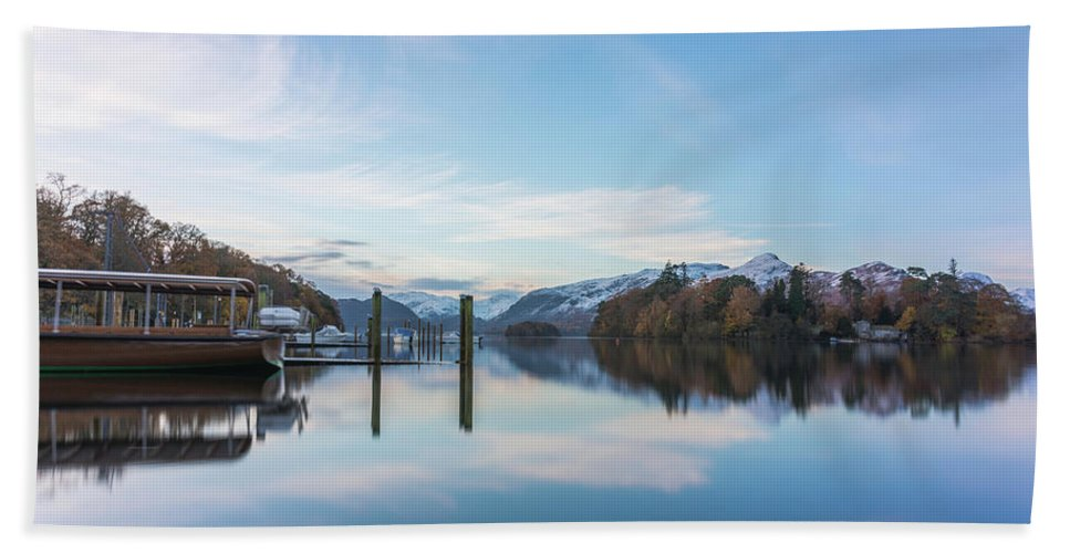 Boat Bath Sheet featuring the photograph Safe Sailing by Christopher Carthern