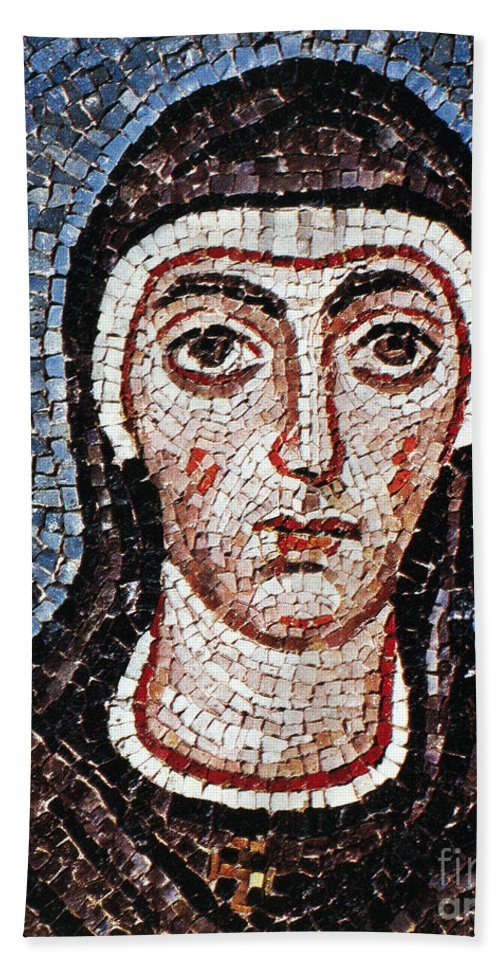 3rd Century Hand Towel featuring the painting Saint Felicity (d. 203) by Granger