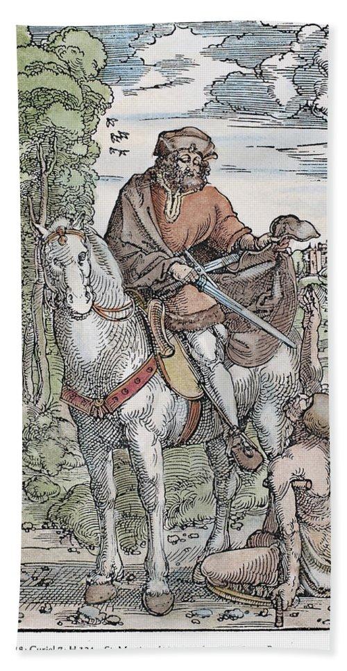 1505 Bath Sheet featuring the photograph Saint Martin (c316-397) by Granger