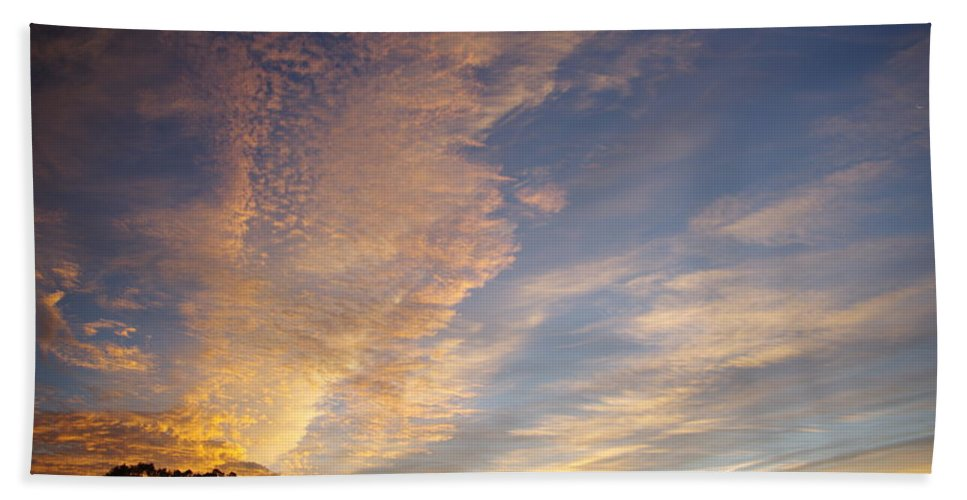 San Diego Bath Sheet featuring the photograph San Diego Sunsrise 5 7/12/15 by Phyllis Spoor