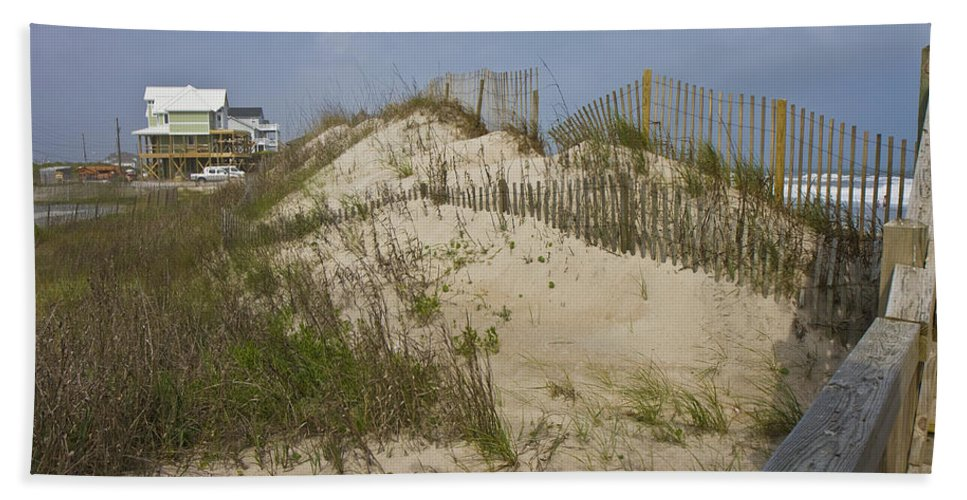 Topsail Bath Sheet featuring the photograph Sand Dunes II by Betsy Knapp