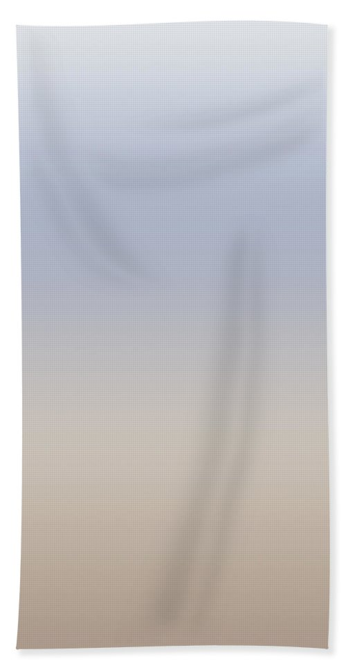 Sand Meets Wave - Abstract Bath Sheet featuring the digital art Sand Meets Wave - R Blended by Custom Home Fashions