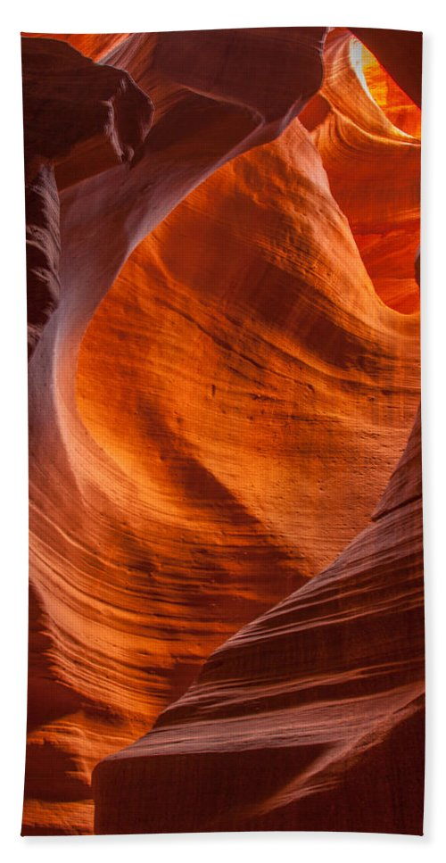Arizona Bath Sheet featuring the photograph Sandstone Patterns by Tom Weisbrook