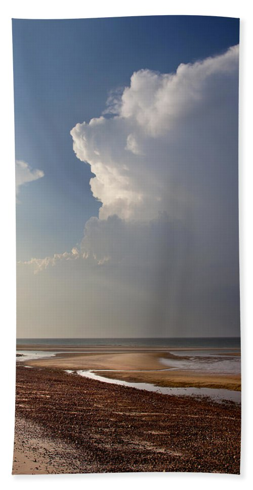 Sandy Neck Hand Towel featuring the photograph Sandy Neck Beach by Charles Harden