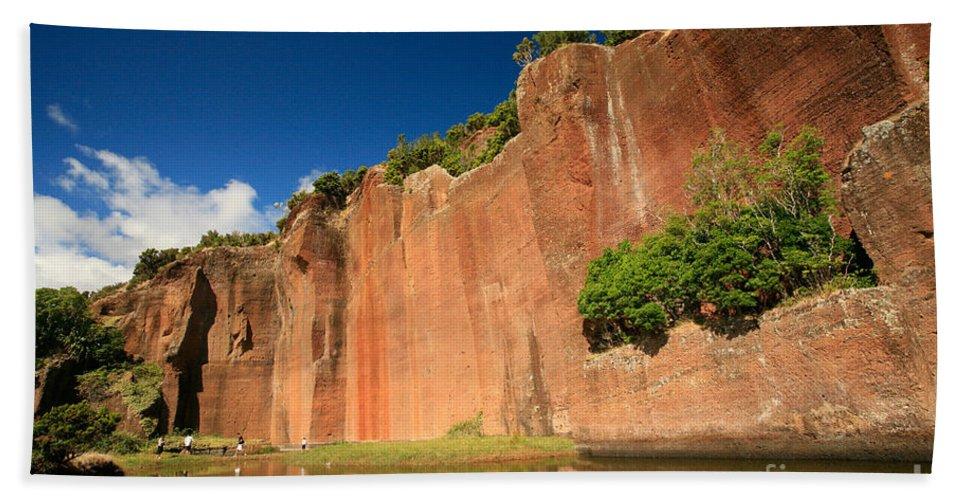 Walls Bath Towel featuring the photograph Santa Maria Azores by Gaspar Avila