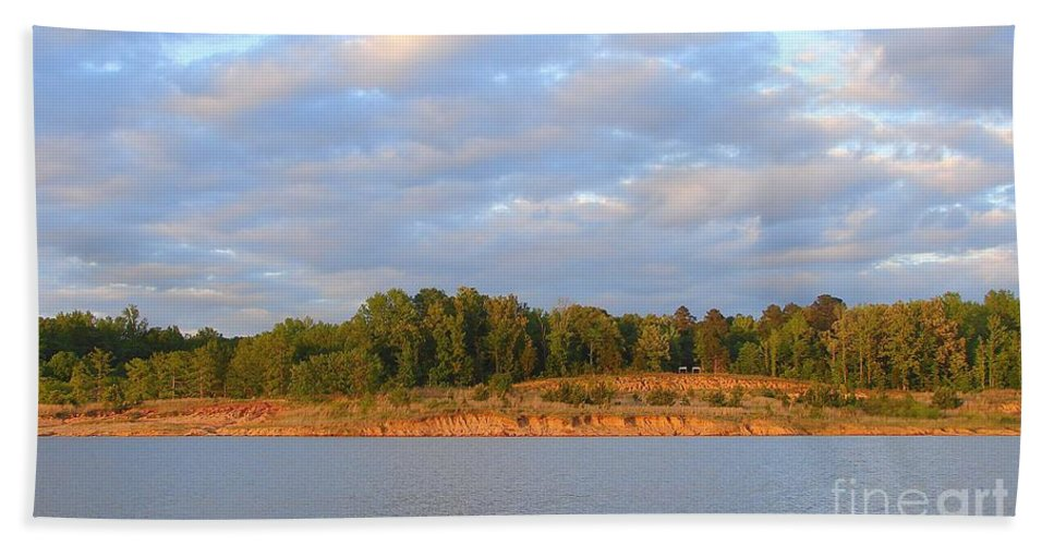 Bath Sheet featuring the photograph Sardis Lake by Luciana Seymour