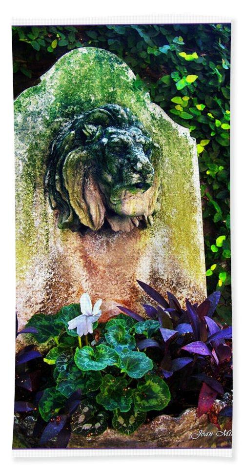Fountain Hand Towel featuring the photograph Savannah Fountain by Joan Minchak