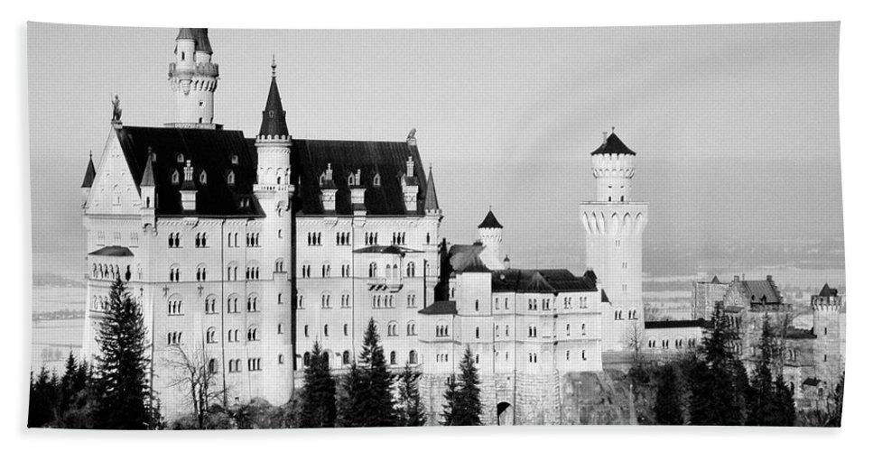 Europe Hand Towel featuring the photograph Schloss Neuschwanstein by Juergen Weiss