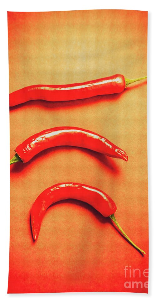 Food Hand Towel featuring the photograph Scorching Food Background by Jorgo Photography - Wall Art Gallery