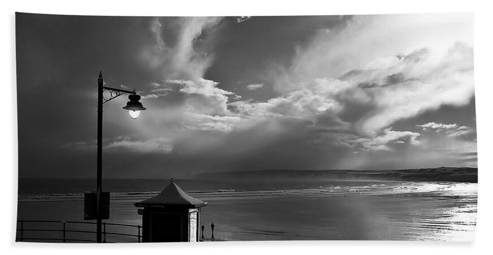Beach Bath Sheet featuring the photograph Seafront by Svetlana Sewell