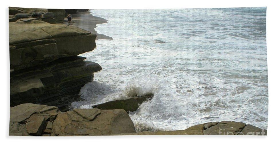 Seaside Bath Sheet featuring the photograph Seaside 2 by Debby Harrison