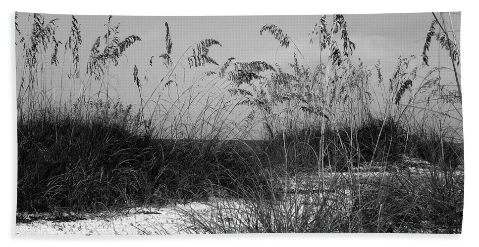 Sand Hand Towel featuring the photograph Seclusion by Terri Mills