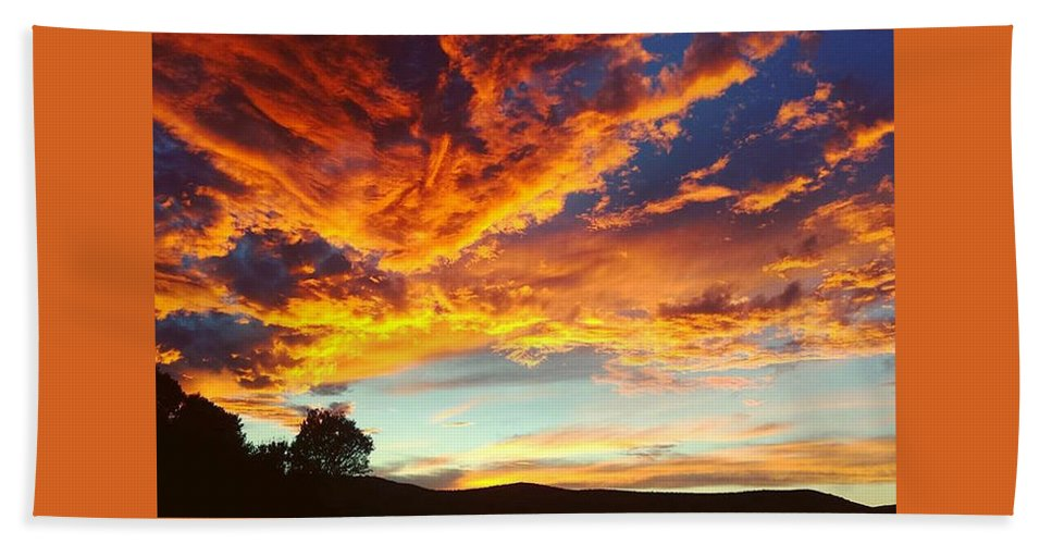 Life Bath Towel featuring the digital art Sedona by Kristina Gerth