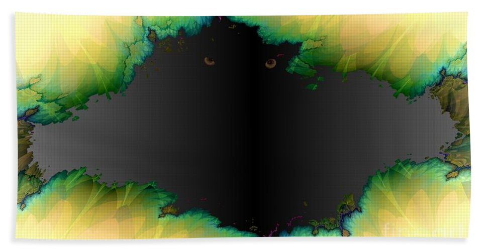 Eyes Hand Towel featuring the digital art See You by Ron Bissett