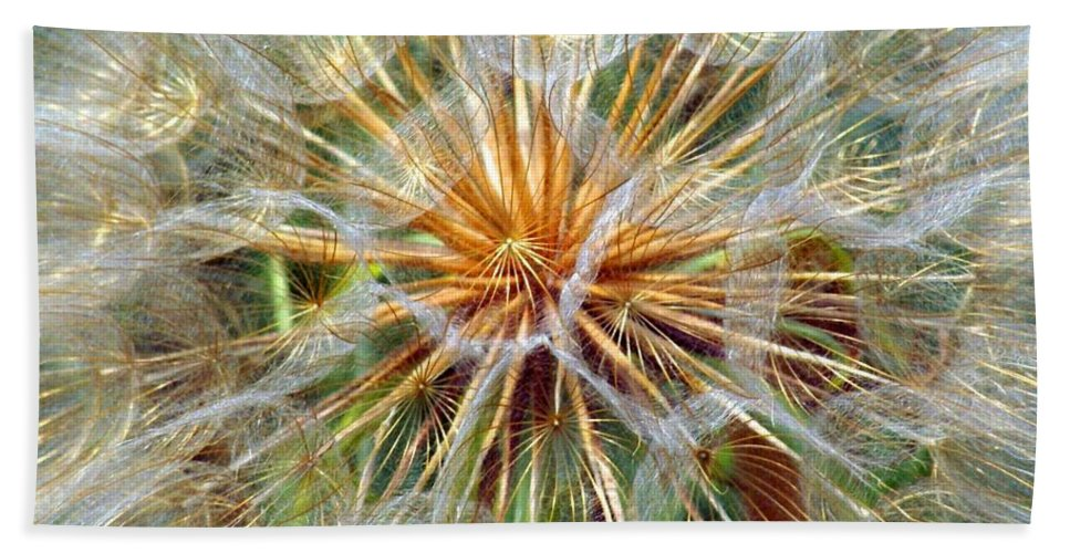 Wildflower Bath Sheet featuring the photograph Seeds by Marty Koch
