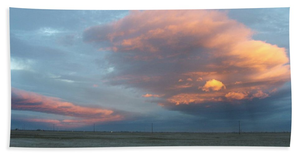 Desert Bath Towel featuring the photograph Self-abandoned by Shari Chavira