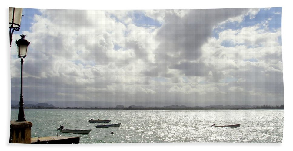Seaside Bath Sheet featuring the photograph Serene by Deborah Crew-Johnson