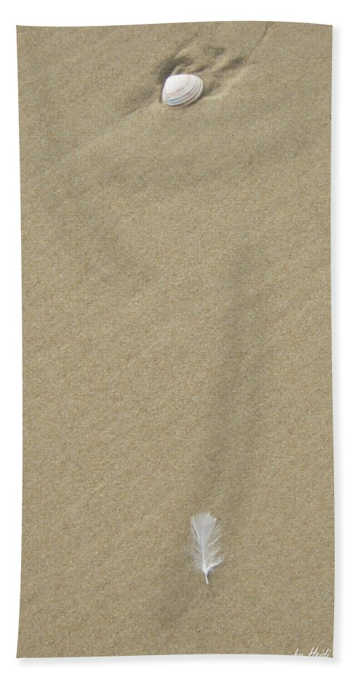 Serenity Hand Towel featuring the photograph Serenity by Heidi Sieber