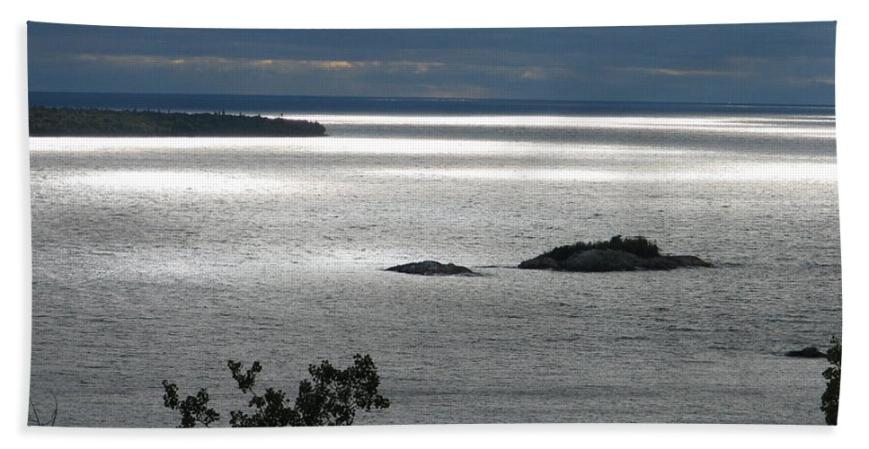 Lake Hand Towel featuring the photograph Serenity by Kelly Mezzapelle
