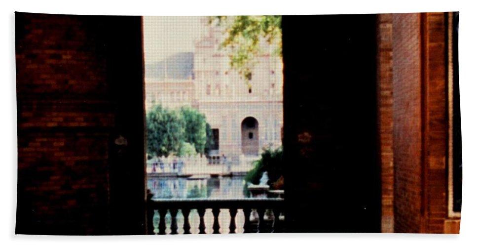 Seville Bath Sheet featuring the photograph Seville by Ian MacDonald