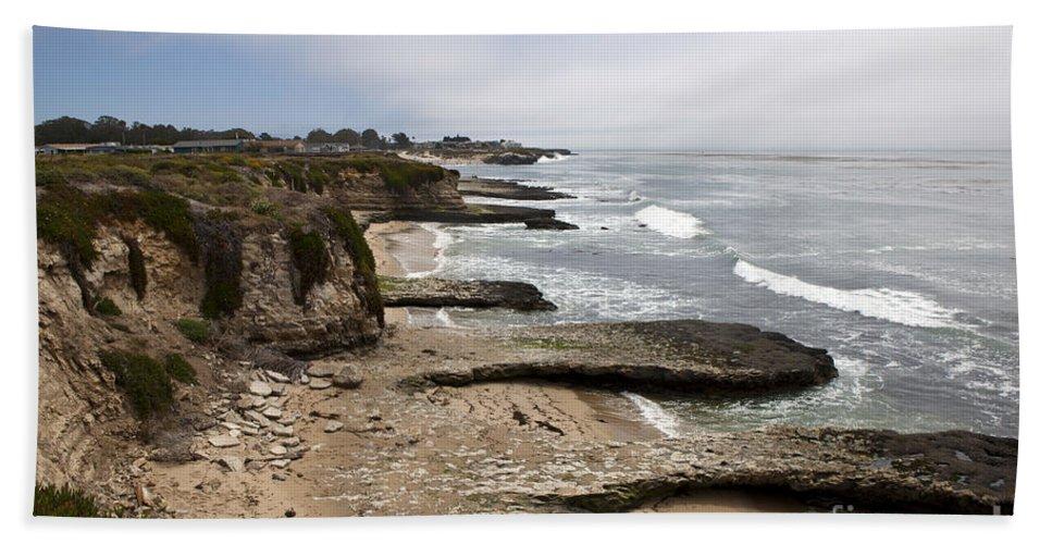 Santa Cruz Bath Sheet featuring the photograph Seymour Marine Discovery Center Santa Cruz by Jason O Watson