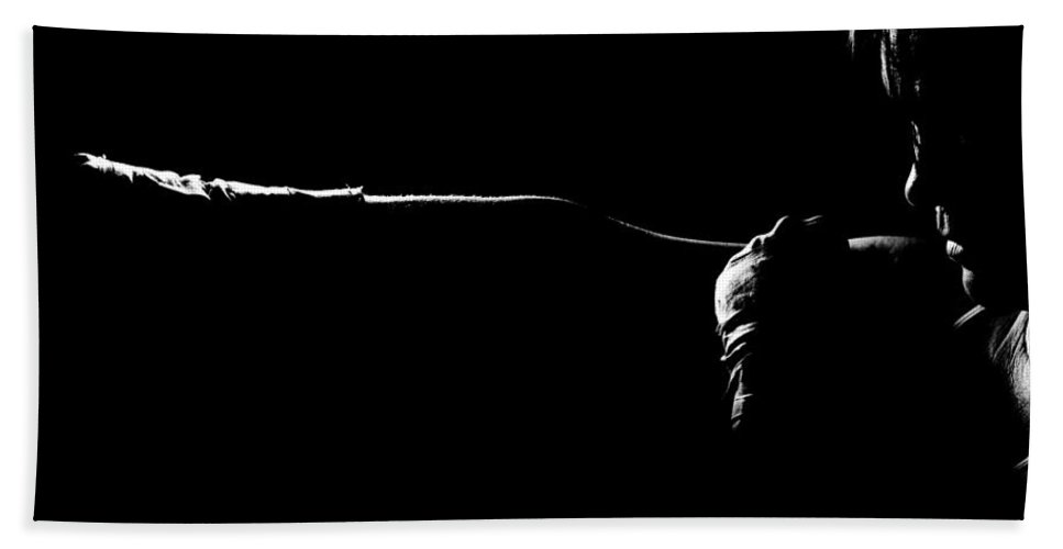 Boxing Bath Sheet featuring the photograph Shadow Boxing by Scott Sawyer