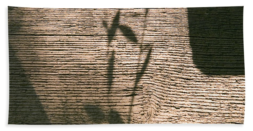 Hand Towel featuring the photograph Shadow by Clayton Bruster